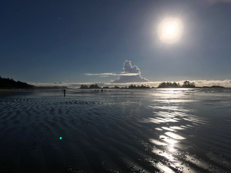 Picture of Long Beach in the Pacific Rim National Park